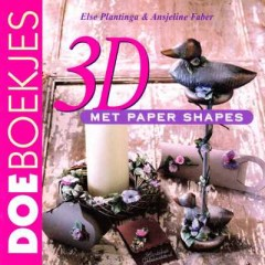 3D met paper shapes
