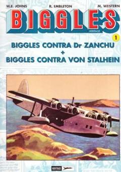 Biggles Contra Dr Zanchu,Biggles Contra Von Stalhein,Biggles En De Galilese Kelk,Biggles En De Goudsmokkelaars,Biggles Neemt Wraak.