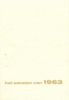 Het aanzien van 1963