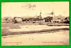 Ansichtkaart Gezicht op Oudeschild, Texel