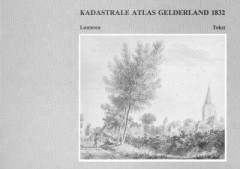 Kadastrale Atlas Gelderland 1832 Lunteren Tekst - Kadastrale gegevens