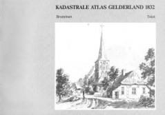 Kadastrale Atlas Gelderland 1832 Brummen Tekst - Kadastrale gegevens
