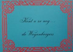 Kent u ze nog... de Wagenborgers
