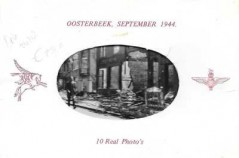 10 Real Photo's Oosterbeek, September 1944