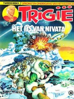 Trigië het ijs van Nivata