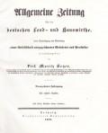 Allgemeine Zeitung für die Deutschen Land- und Hauswirthe 1842
