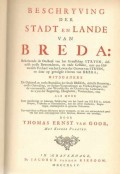 Beschryving der Stadt en Lande van Breda