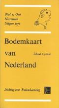 Bodemkaart van Nederland Blad II Oost Heerenveen