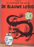 De avonturen van Kuifje - De Blauwe Lotus