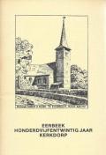 Eerbeek honderdvijfentwintig jaar kerkdorp