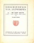 Geschiedenis van Antwerpen II. - De XIII de Eeuw