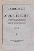 Jaarboekje van Oud-Utrecht 1953