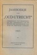 Jaarboekje van Oud-Utrecht 1965