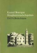 Kasteel Bouvige Hoogheemraadschapshuis