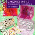 Kunstzinnige kaarten met zijdeschilderen en papierarchitektuur
