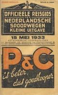Officieele Reisgids der Nederlandsche Spoorwegen Kleine Uitgave 15 mei 1933