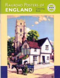 Railroad Posters of England Colouring Book