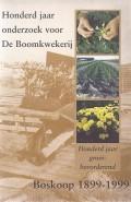 Honderd jaar onderzoek voor de Boomkwekerij