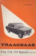 Vraagbaak FIAT 124, 124 Special 1966 - 1969