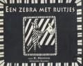 Een zebra met ruitjes