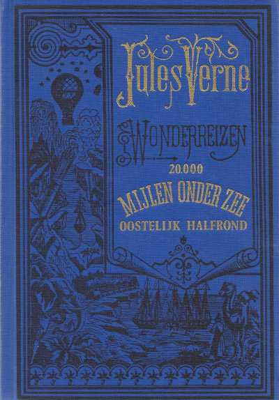 Boekwinkeltjes Jules Vernes Wonderreizen 20000 Mijlen Onder